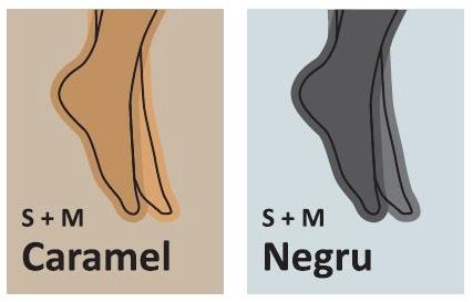 CIORAPI COMPRESIVI mediven forte unisex Germania, terapie afectiuni severe, ciorapi medicali cl.2,3, Culori disponibile (S + M): caramel, negru.