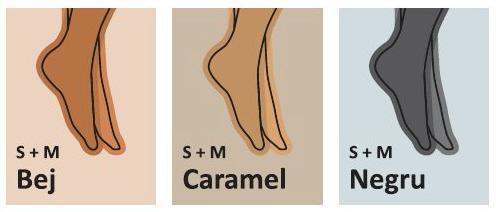 CIORAPI COMPRESIVI mediven plus unisex Germania opaci, mascheaza varicele, ciorap medical, cl. 1,2,3 , Culori disponibile (S + M): bej, caramel, negru.
