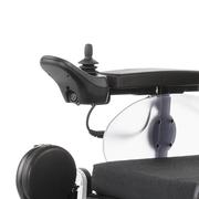 SCAUN RULANT ELECTRIC iChair MC2 6-10km/h autonom 40km max 160kg XXL motor2x220W 5 viteze panta15grd - Control confortabil