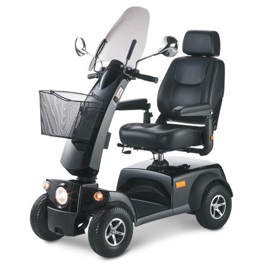 SCUTER ELECTRIC CITYLINER 412 MEYRA 12km/h autonom 35km max 150kg motor silentios scaun confortabil