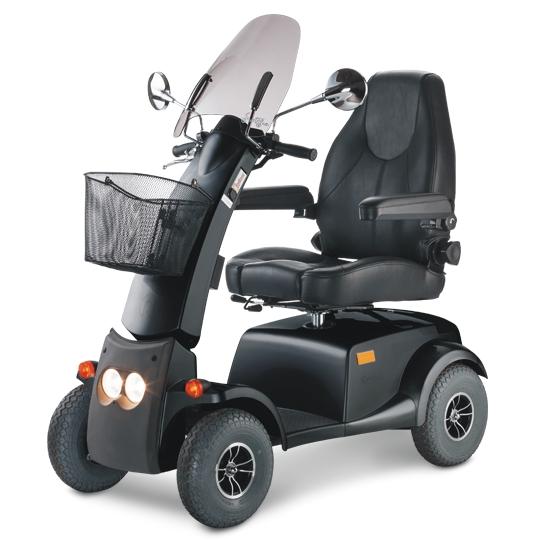 SCUTER ELECTRIC CITYLINER 415 MEYRA 15km/h autonom 50km max 180kg motor puternic scaun de lux reglabil