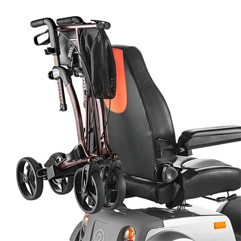 SCUTER ELECTRIC CITYLINER 415 MEYRA 15km/h autonom 50km max 180kg motor puternic scaun de lux reglabil - Suport pentru cadru de mers (rolator) Mobilus